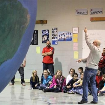 Grigsby students learn about plate tech tonics and weather patterns