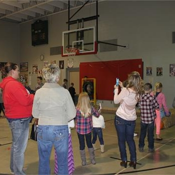 Children and adults enjoy the many games and events at Grigsby's 2014 Fall Fest
