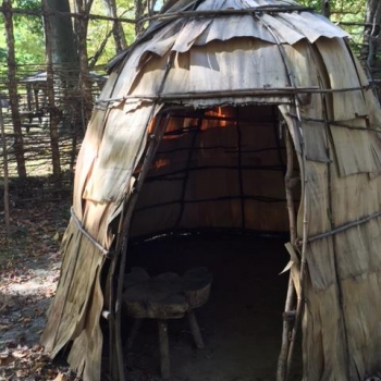 An American Indian Teepee/Hut