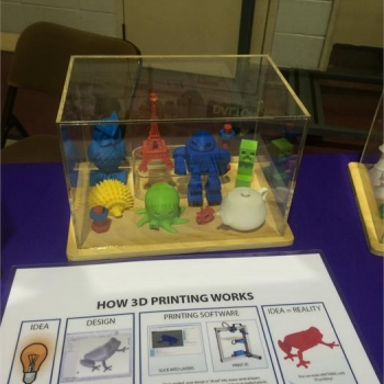 Items that were constructed with a 3D printer