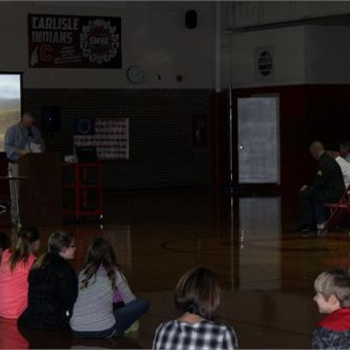 Veteran's Day Assembly 2014