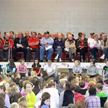 Local veteran's honored at Grigsby Intermediate
