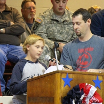 One of Grigsby's finest shares his thoughts about what it means to be a hero